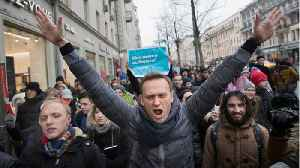 News video: Police In Russia Detain Opposition Leader Navalny In Lead Up To Putin Inauguration