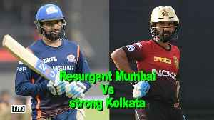 News video: IPL 2018 | Resurgent Mumbai look to continue momentum against strong Kolkata