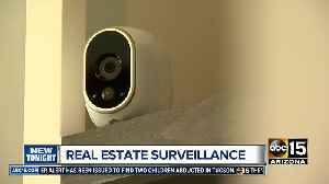 News video: Real estate surveillance being used to watch potential buyers