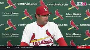 News video: Mike Matheny on Miles Mikolas: 'He's been real impressive'