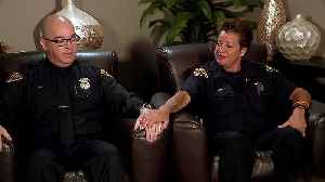 News video: Officers Still Get Emotional Recalling Rescue of Three Kidnapped Women