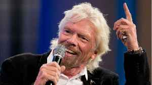 News video: Why Is Richard Branson Dressed Like A Mermaid?