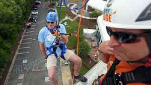News video: Video: United Way Over the Edge Event