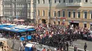 Over 1,000 Russians Arrested in Anti-Putin Protests
