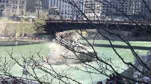 News video: Boat on the Chicago River Catches Fire