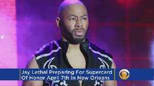 News video: Jay Lethal Ready For Supercard Of Honor, Biggest ROH Show In History