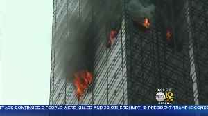 News video: Investigation Continues In Trump Tower Blaze