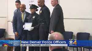 News video: New Officers Welcomed To The Denver Police Department