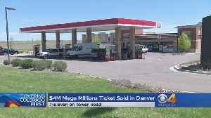 News video: $4M Mega Millions Ticket Sold At Denver 7-Eleven