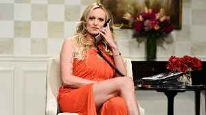 News video: SNL's Stormy Daniels cold open, annotated