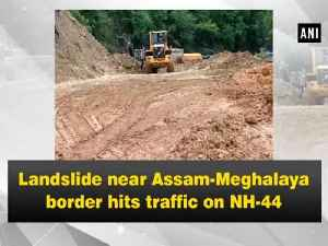 Landslide near Assam-Meghalaya border hits traffic on NH-44