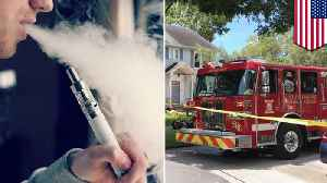 News video: Vape pen may have caused Florida house fire - TomoNews
