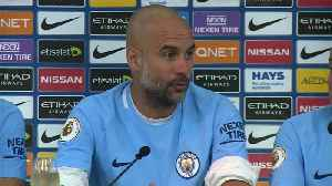 News video: Guardiola delights in winning league, warns next season will be tougher