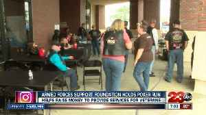 News video: Armed Forces Support Foundation holds poker run to raise money for local heroes
