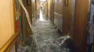 News video: Passengers on Flooded Carnival Ship Say It Reminds Them of 'Titanic'