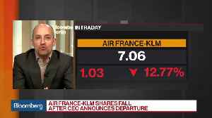 News video: Air France Shares Tumble Following CEO's Departure
