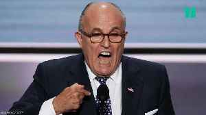 Rudy Off The Rails!