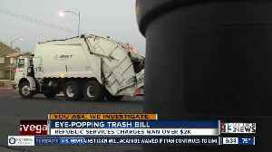 News video: Another viewer receives eye-popping trash bill