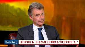 News video: German Ambassador Heusgen Says Iran Accord Is a 'Good Deal'