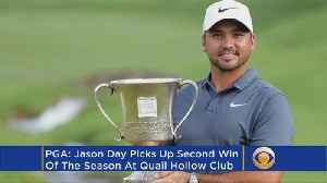 News video: This Week In Golf: Jason Day Wins Wells Fargo By Two Strokes