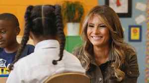 News video: First Lady announces