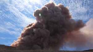 News video: Hawaiian Volcano Eruption Releases 'Vog' Into Air