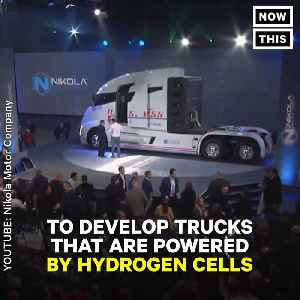 News video: The Makers Of Budweiser Just Bought 800 Hydrogen Fuel Trucks