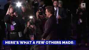 News video: 'Variety' Reveals How Much Some Hollywood Stars Make