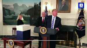 News video: Trump Pulls United States Out of Iran Nuclear Deal