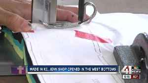 Made in Kansas City: Jean shop opens in West Bottoms