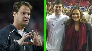 """News video: Lane Kiffin Reveals His Secret to Hiring Assistant Coaches: """"Look at Their Wives"""""""