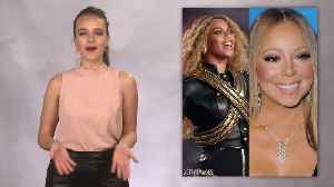 News video: Mariah Carey and Beyonce Pose Together in Flawless Photo