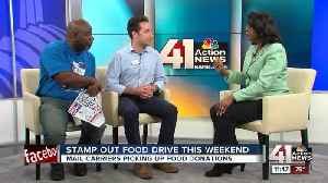 News video: 26th Stamp Out Hunger food drive this weekend