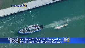 News video: Boat Capsizes On Chicago River