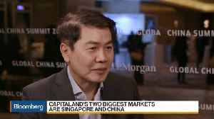 News video: CapitaLand CEO Says China Property Curbs Haven't Impacted Demand