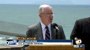 News video: AG Jeff Sessions visits U.S.-Mexico border