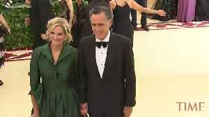 News video: People Are Surprised That Mitt Romney Rolled Up at the 2018 Met Gala