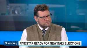 News video: Italy's Five Star, Northern League Seek Voters' Endorsement