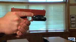 News video: Cedarburg Police trying out cameras mounted to guns