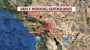 News video: 2 Earthquakes Reported in Southern California