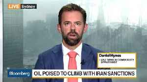 News video: Oil Poised to Rise on Iran Sanctions