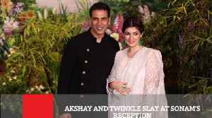 News video: Akshay And Twinkle Slay At Sonam's Reception