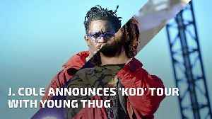 News video: J. Cole Announces 'KOD' Tour With Young Thug