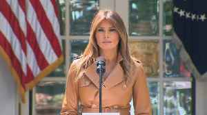 News video: Melania Trump Fires Back at Critics of Her 'Be Best' Campaign