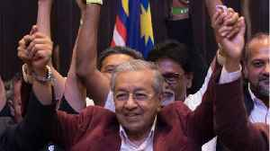 News video: Mahathir Mohamad Scores Shocking Election Win In Malaysia