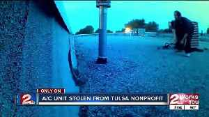 News video: Non-profit's AC stolen for fourth time
