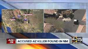 News video: Suspect found dead in New Mexico after shooting and killing man in Surprise