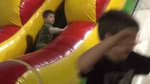 News video: Tot Boy Trips On A Ball And Falls