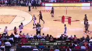 News video: Dwyane Wade & Patrick Beverley Fight Like 2-Year-Olds