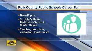 News video: Two job fairs happening on Wednesday, May 9